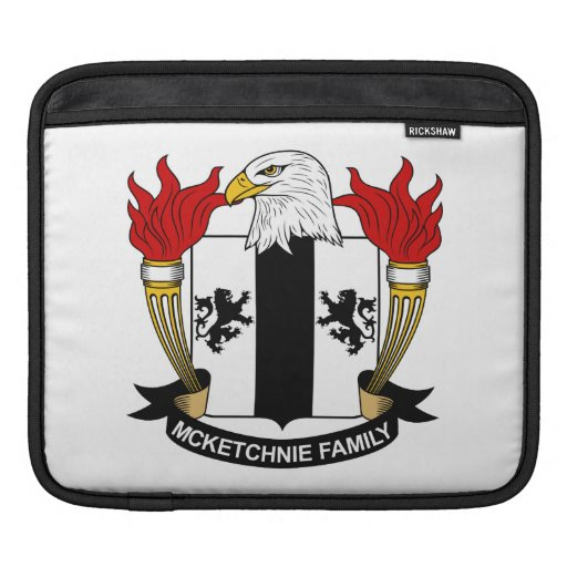 Escudo de la familia de McKetchnie Mangas De iPad