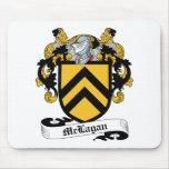 Escudo de la familia de McLagan Tapete De Raton