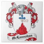 Escudo de la familia de McLannahan Azulejo
