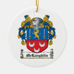 Escudo de la familia de McLaughlin Ornato