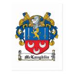 Escudo de la familia de McLaughlin Postales