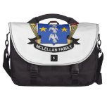 Escudo de la familia de McLellan Bolsa Para Ordenador