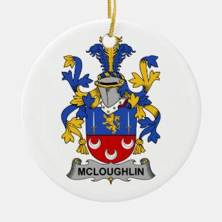 Escudo de la familia de McLoughlin Adorno Para Reyes