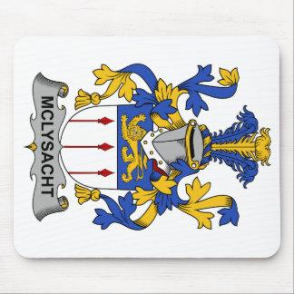 Escudo de la familia de McLysacht Alfombrillas De Ratón
