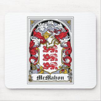 Escudo de la familia de McMahon Tapetes De Ratón