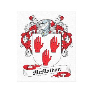 Escudo de la familia de McMathan Impresion En Lona