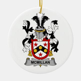Escudo de la familia de McMillan Ornaments Para Arbol De Navidad