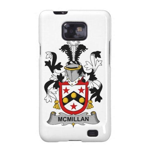 Escudo de la familia de McMillan Samsung Galaxy SII Carcasa