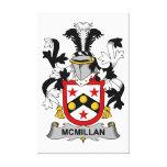 Escudo de la familia de McMillan Impresiones De Lienzo