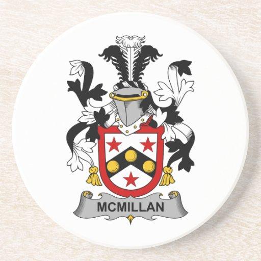 Escudo de la familia de McMillan Posavaso Para Bebida