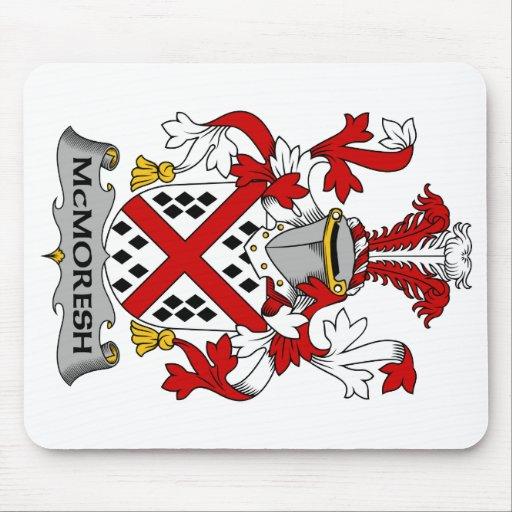 Escudo de la familia de McMoresh Tapetes De Ratón