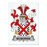 Escudo de la familia de McMorris Invitación
