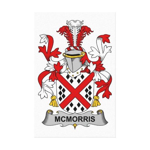 Escudo de la familia de McMorris Impresiones En Lona