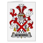 Escudo de la familia de McMorris Tarjetón