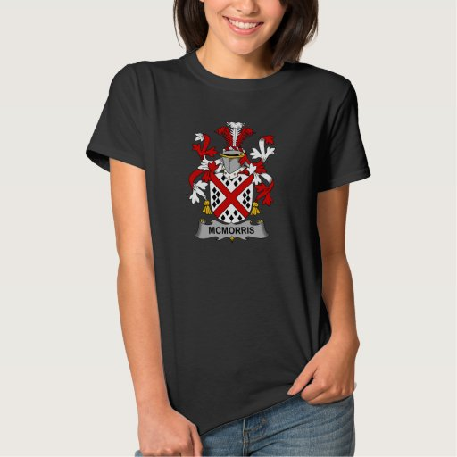 Escudo de la familia de McMorris Tshirt