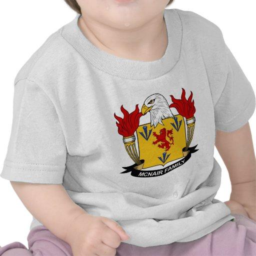 Escudo de la familia de McNair Camiseta