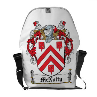 Escudo de la familia de McNulty Bolsas De Mensajería