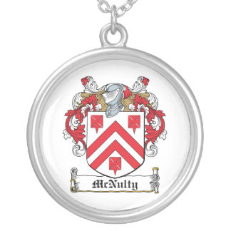 Escudo de la familia de McNulty Colgante Redondo