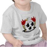 Escudo de la familia de McQueen Camiseta