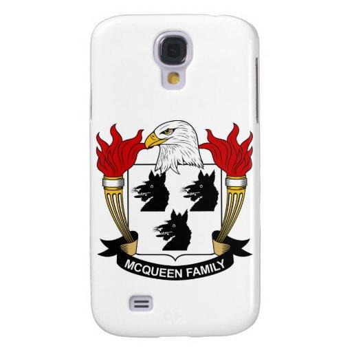 Escudo de la familia de McQueen Funda Para Galaxy S4