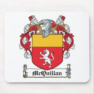 Escudo de la familia de McQuillan Alfombrillas De Raton