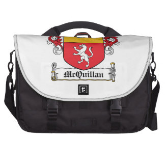 Escudo de la familia de McQuillan Bolsas De Portatil