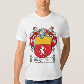 Escudo de la familia de McQuillan Camisas