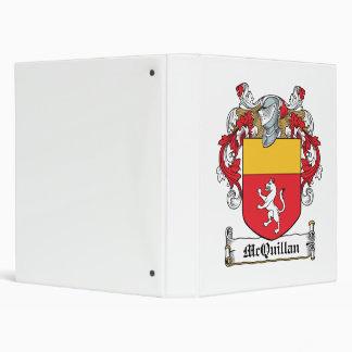 "Escudo de la familia de McQuillan Carpeta 1"""