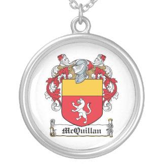 Escudo de la familia de McQuillan Colgante Redondo