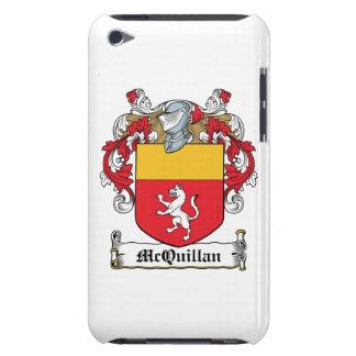 Escudo de la familia de McQuillan Barely There iPod Protectores