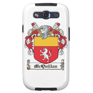 Escudo de la familia de McQuillan Galaxy S3 Cárcasas