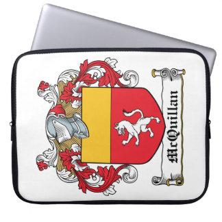 Escudo de la familia de McQuillan Funda Ordendadores