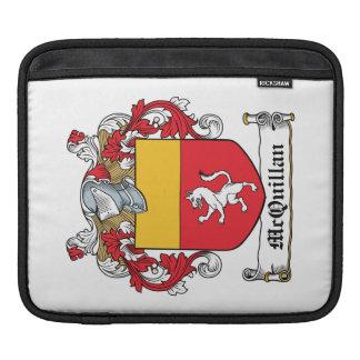 Escudo de la familia de McQuillan Funda Para iPads