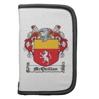 Escudo de la familia de McQuillan Planificador
