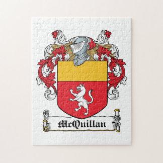 Escudo de la familia de McQuillan Puzzles Con Fotos