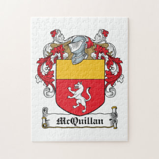 Escudo de la familia de McQuillan Rompecabezas