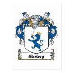 Escudo de la familia de McRery Postales