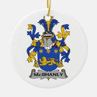 Escudo de la familia de McShanly Ornatos