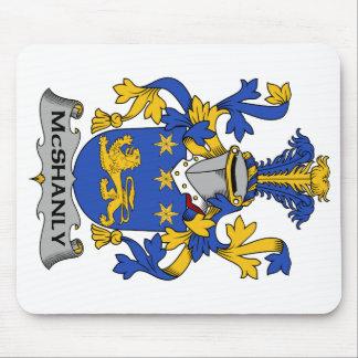 Escudo de la familia de McShanly Tapetes De Raton