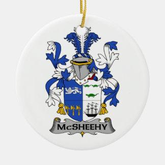 Escudo de la familia de McSheehy Adorno Para Reyes