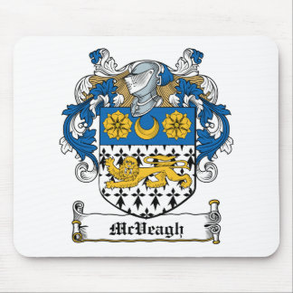 Escudo de la familia de McVeagh Alfombrilla De Ratones