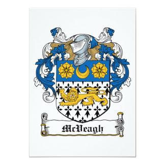 Escudo de la familia de McVeagh Comunicado Personal