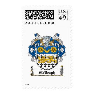 Escudo de la familia de McVeagh Sello