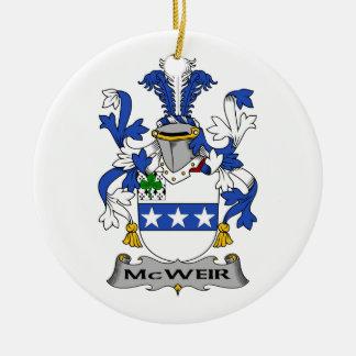 Escudo de la familia de McWeir Adorno De Reyes