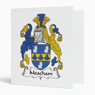 "Escudo de la familia de Meacham Carpeta 1"""
