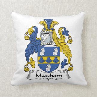 Escudo de la familia de Meacham Cojin