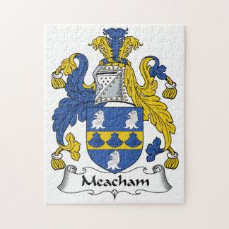 Escudo de la familia de Meacham Puzzles Con Fotos