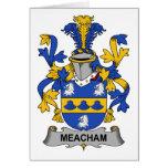 Escudo de la familia de Meacham Tarjeton