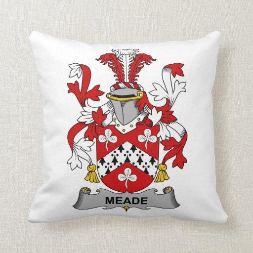 Escudo de la familia de Meade Almohadas