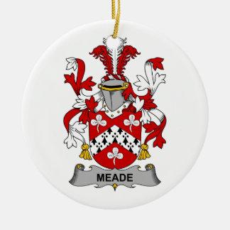 Escudo de la familia de Meade Ornato